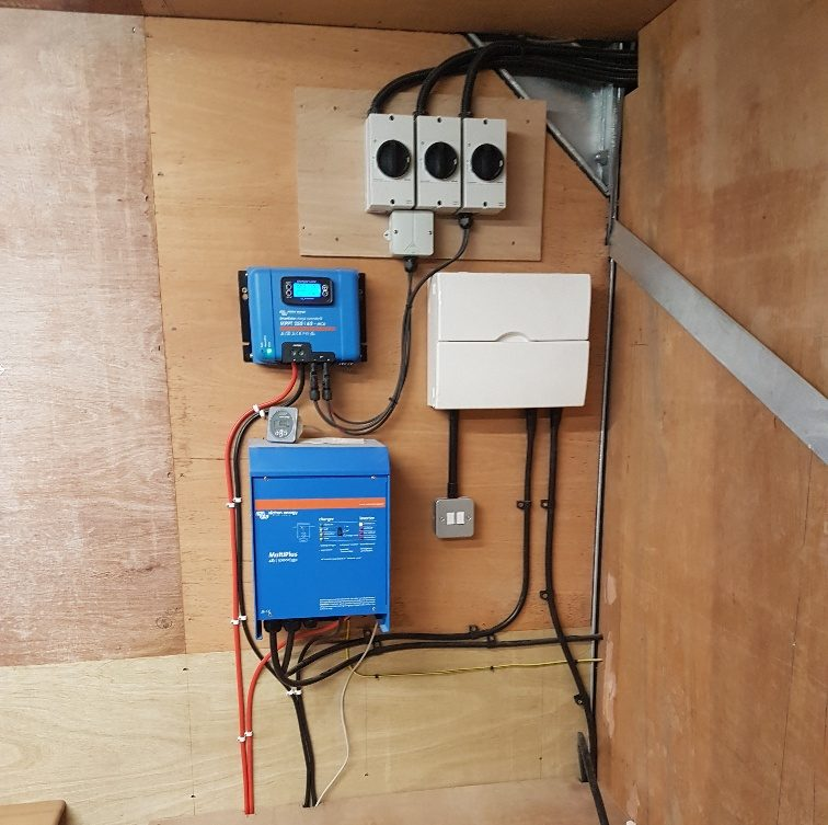 3kW Off grid installation