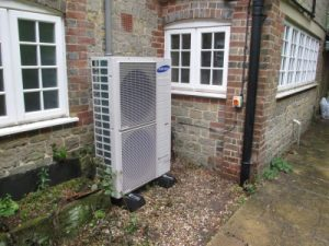 Read more about the article 16kW Heat Pump Install